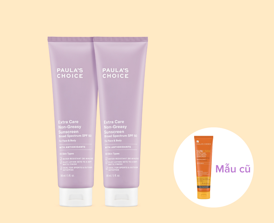 Kem chống nắng Paula's Choice Extra Care Non Greasy Sunscreen SPF 50