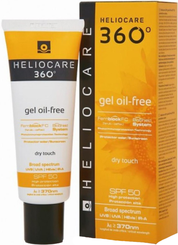 Kem chống nắng Heliocare 360 Gel Oil-Free Dry Touch SPF 50