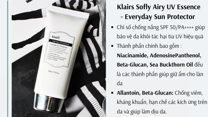 Klairs Sofly Airy UV Essence - Everyday Sun Protector